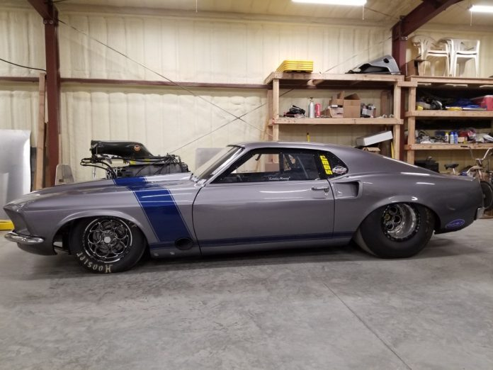 Bret Meyer's Supercharged 1969 Outlaw 10.5 Mustang