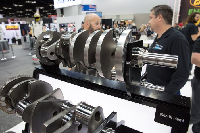 Callies Compstar Crankshaft Now Available For Gen-III HEMI