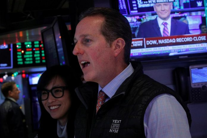 S&P 500, Dow edge up to records; Nasdaq win streak at risk