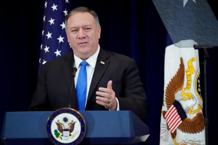 U.S. Secretary of State Pompeo to visit Ukraine in new year