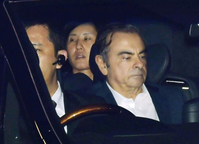 Ghosn says in Lebanon, having 'escaped injustice'