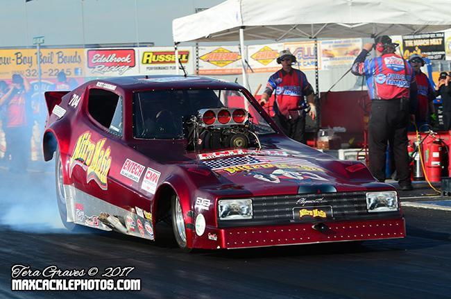 FUNNY CAR CHAOS INKS OFFICIAL SPONSOR