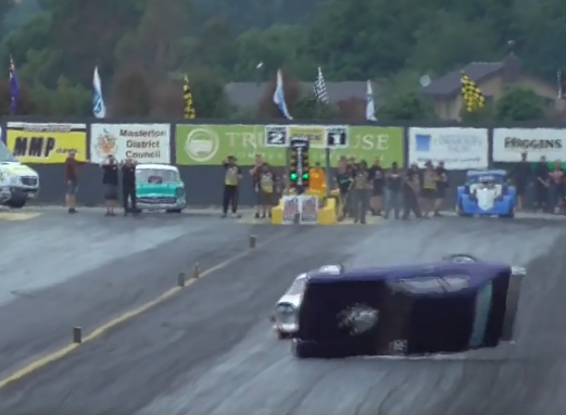 VIDEO - POSSIBLY THE WILDEST RACE YOU'LL EVER WATCH