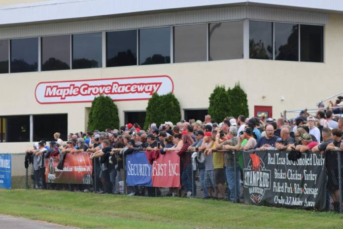 INCOMING OWNERS HAVE BIG PLANS FOR MAPLE GROVE RACEWAY