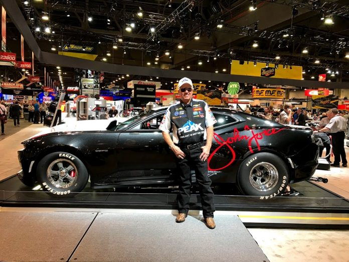 FORCE'S 2020 COPO CAMARO TO BE AUCTIONED AT BARRETT JACKSON