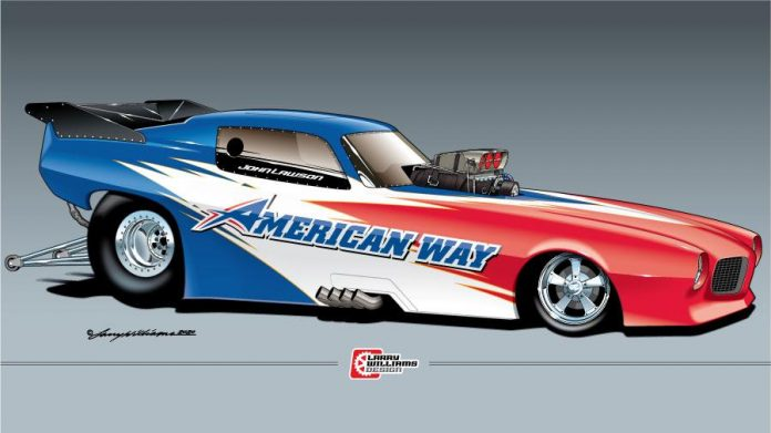 SNEAK PEEK - JOHN LAWSON'S NEW PONTIAC AA/FC
