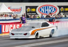 Tom Bailey Rips Off A 5.77 In Full Drag Week Trim!