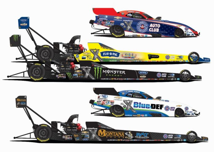 FORCE RACING TO BRING NEW SPONSORS AND FOUR DRIVERS TO NHRA FOR 2020