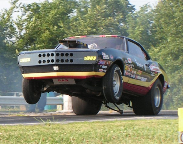 IT'S HEADS-UP OR NOTHING AT ALL FOR THIS MISSOURI DRAG STRIP
