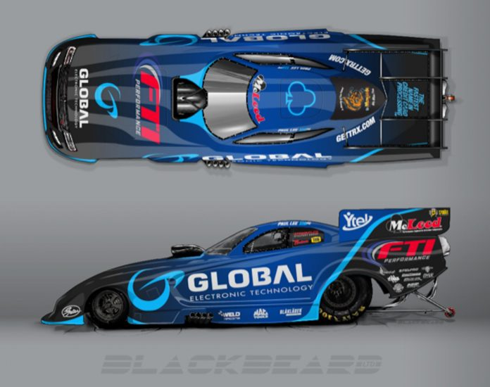 Global Electronic Technology Joins Paul Lee's Nitro Funny Car Team