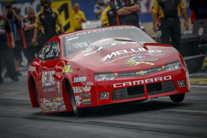 ERICA ENDERS RIGHTLY TAKES HER PLACE AMONG PRO STOCK ELITE