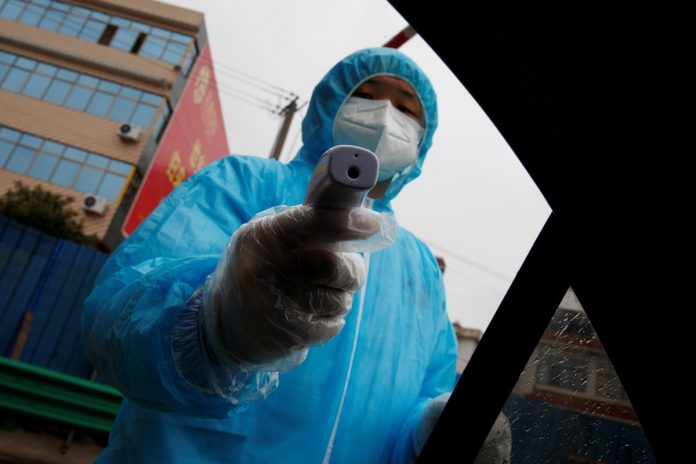Chinese city accused of stealing virus masks from hard-hit neighbour