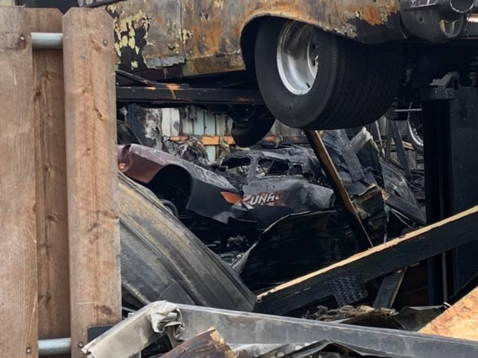 NOSTALGIA FC RACER JOHN LAWSON LOSES EVERYTHING IN GARAGE FIRE