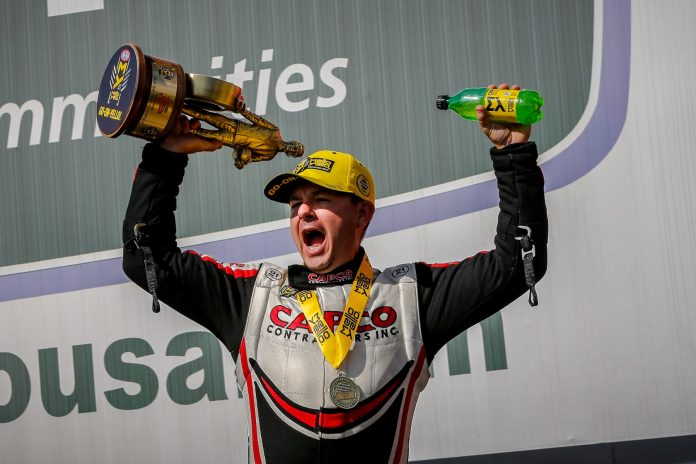 Steve Torrence Confirms Team Is Skipping The NHRA Winternationals