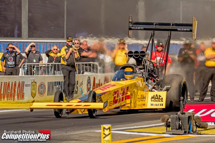LANGDON DOESN'T MISS A BEAT, LAUNCHES TOP FUEL RETURN WITH PROVISIONAL NO. 1