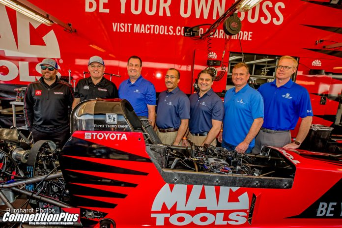FIFTH THIRD BANK BANKS ON KALITTA MOTORSPORTS IN MULTI-YEAR AGREEMENT