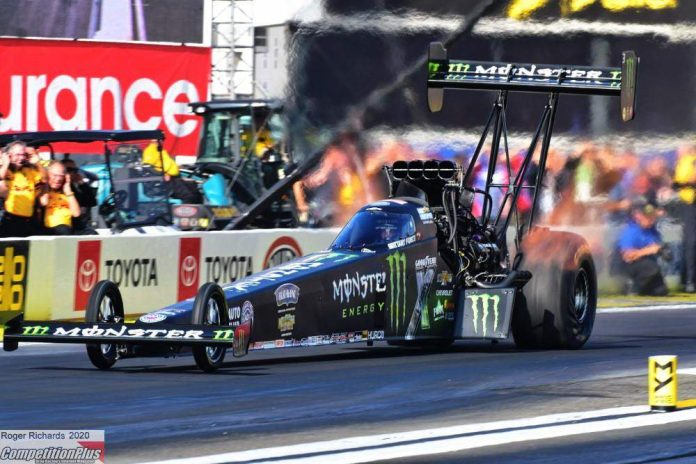 BRITTANY FORCE FLAWLESS ON SATURDAY, TAKES TOP FUEL NO. 1