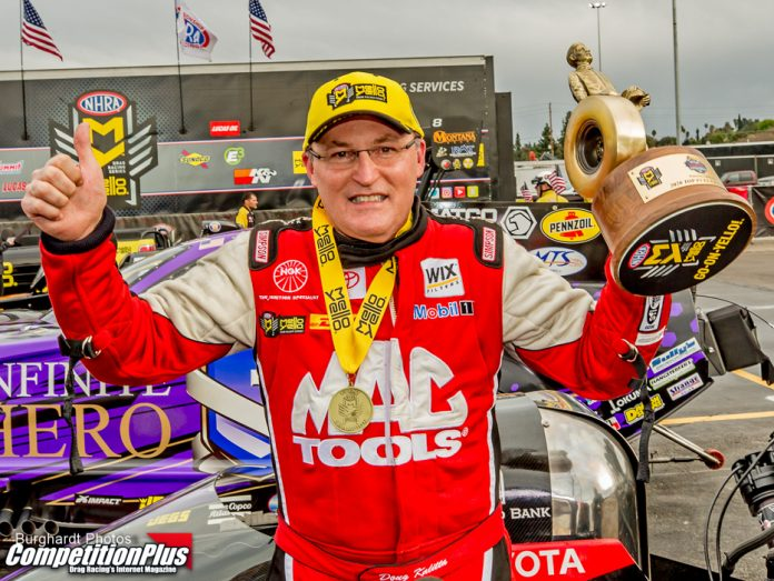 KALITTA KEEPS HIS POMONA STREAKS ALIVE WITH TOP FUEL VICTORY OVER PROCK