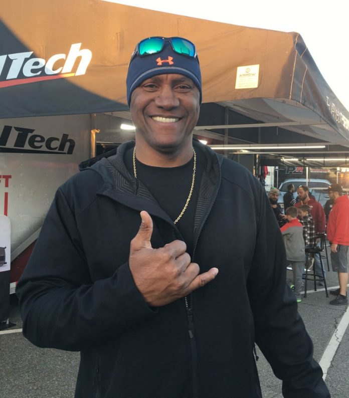 NBA SUPERSTAR FINDS HIS WAY BACK TO DRAG RACING ROOTS