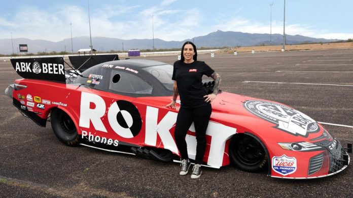 DEJORIA: 'JUST 'BEING WHAT I WAS MEANT TO BE' – FUNNY CAR DRIVER