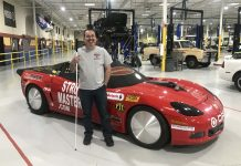 BLIND DRAG RACER ATTEMPTS 200 MPH RUN THIS WEEKEND