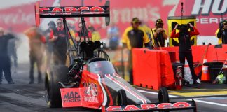STEVE TORRENCE ROCKETS TO TOP OF QUALIFYING LADDER AT ARIZONA NATIONALS