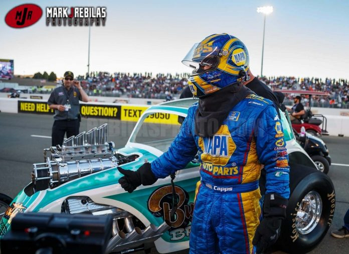 CAPPS RACING AA FUEL ALTERED AGAIN AT MARCH MEET