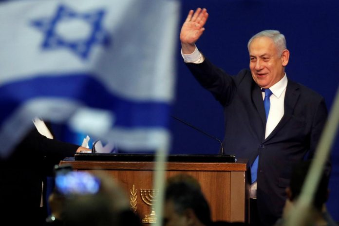 Netanyahu ahead in Israeli election, but still lacking governing majority