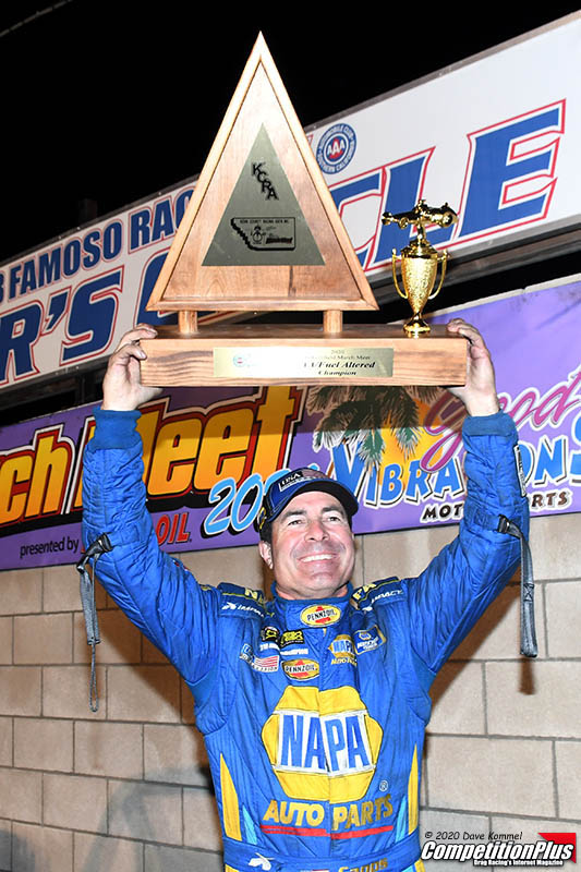 A DREAM REALIZED: RON CAPPS WINS THE MARCH MEET