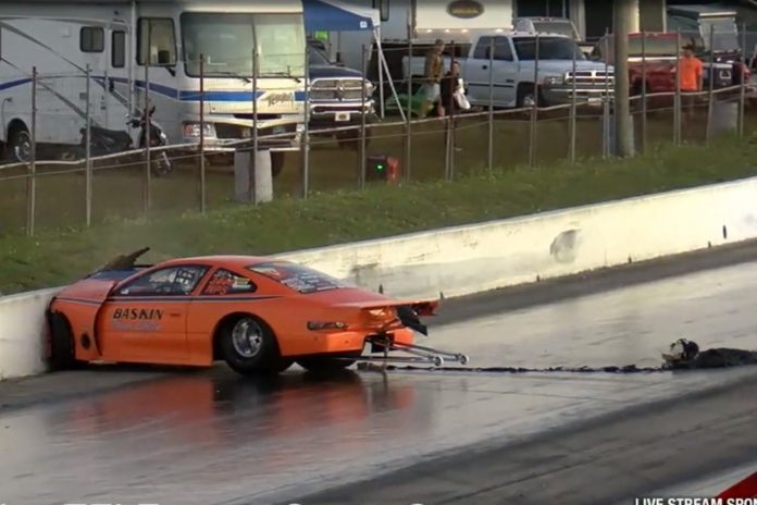 Don Baskin Hits The Wall Twice At Muscle Car Madness