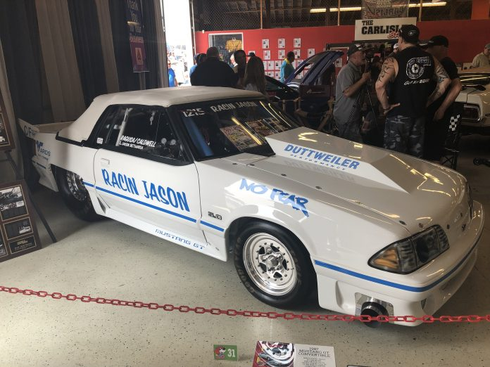 Iconic Racin' Jason Turbo Fox-Body Mustang For Sale