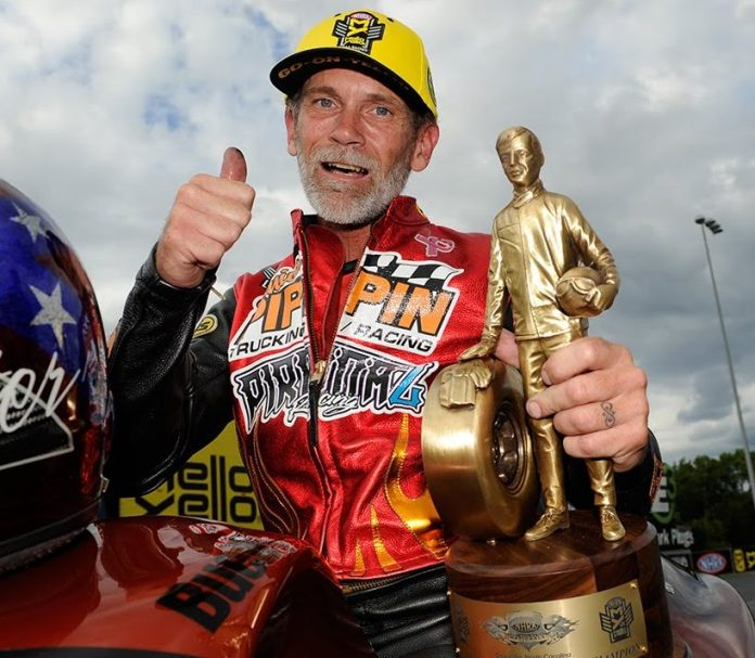 CHIP ELLIS TO COMPETE IN PRO STOCK MOTORCYCLE CLASS AT GATORNATIONALS