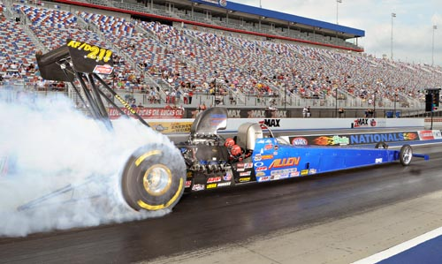 ALLEN ASSEMBLES ALL-STAR TEAM IN STEPPING UP TO TOP FUEL