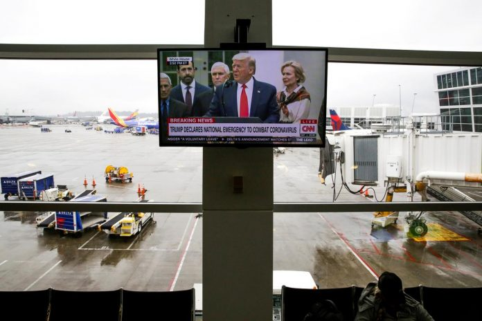 U.S. asks travelers for patience amid chaos, long lines at airports