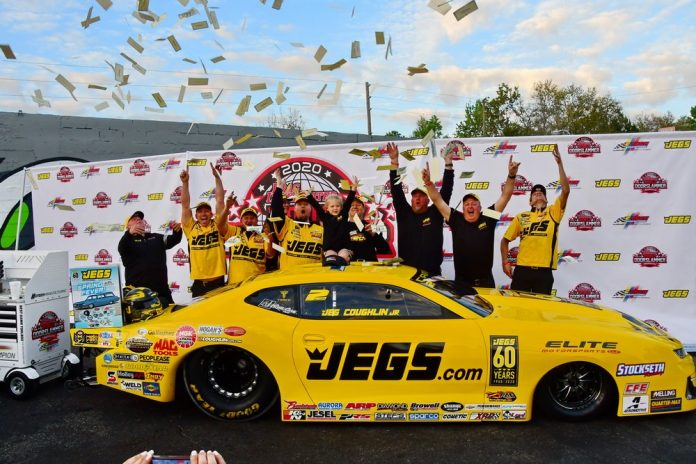 Jeg Coughlin Jr. Bags $75K Win At World Doorslammer Nationals