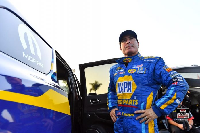 BUSY RACE WEEK AHEAD FOR NHRA CHAMP RON CAPPS