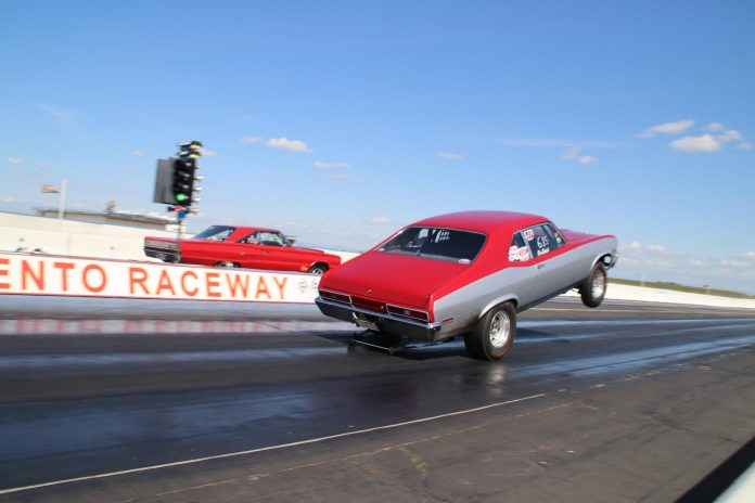 With Caution, Drag Racing Continues On Through Crisis In California