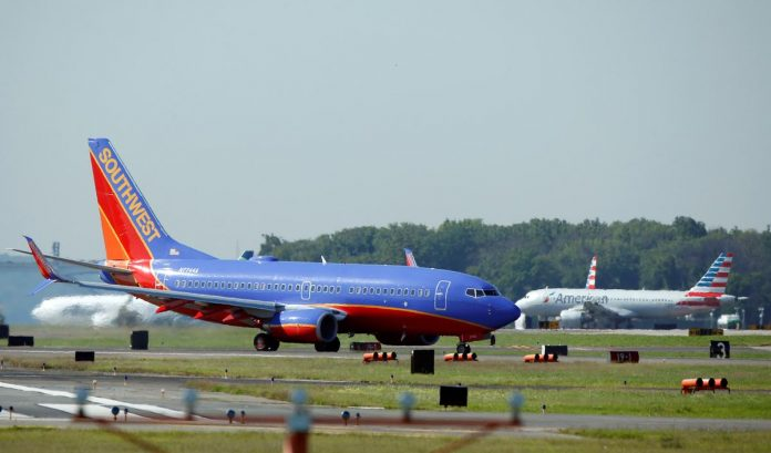 Southwest Airlines to seek aid from U.S. Treasury as demand craters