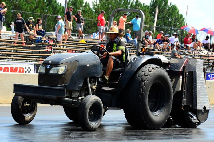 TRACK PREP SPECIALIST WADE RICH: I JUST NEEDED A CHANGE