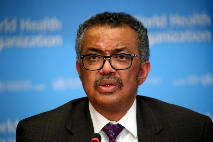 World Health Organization chief regrets U.S. decision to pull funding