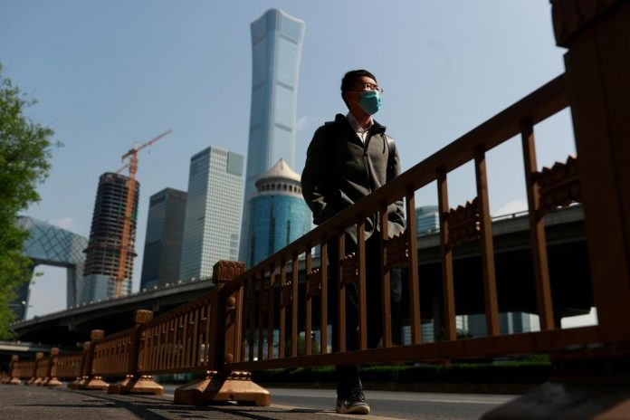 Hobbled by coronavirus, China's first-quarter GDP shrinks for first time on record