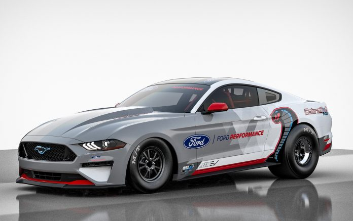 Ford Performance Introduces All-Electric Mustang Cobra Jet 1400