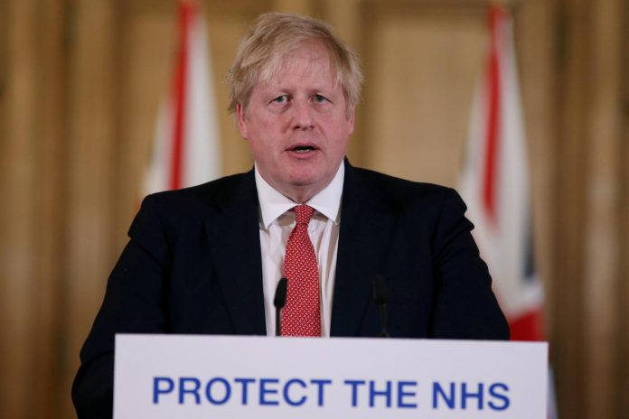 UK's Johnson 'raring to go' but faces mountain of problems