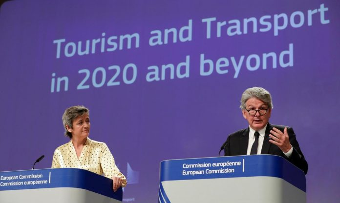 EU pushes to reopen borders for summer tourism amidst coronavirus