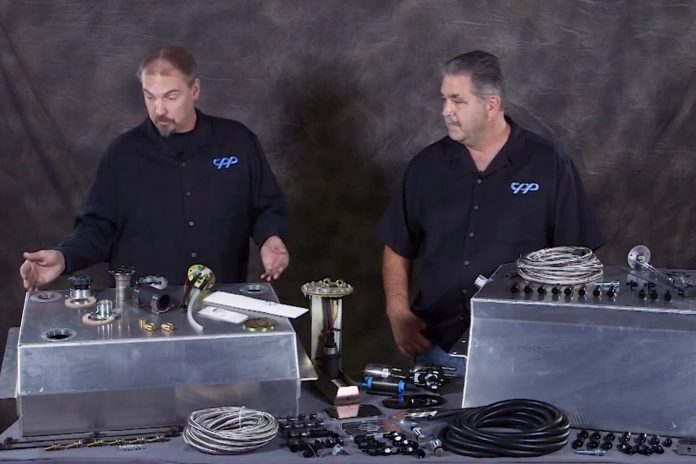 Upgrade Your Fuel System With An Aluminum Fuel Tank From CPP