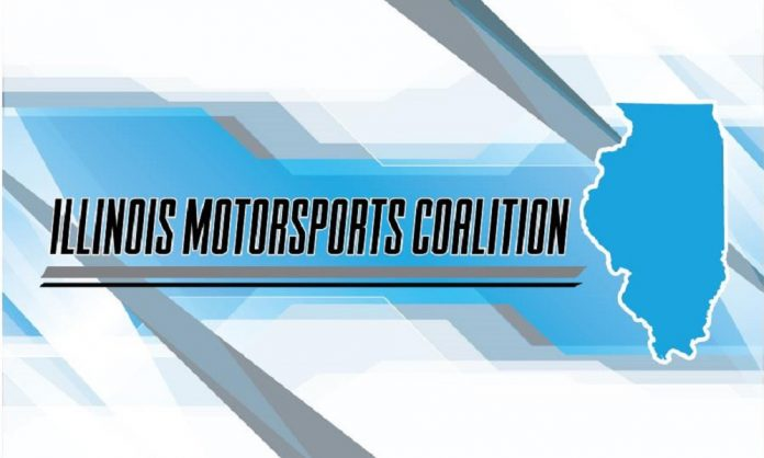 ILLINOIS MOTORSPORTS COALITION FORMED TO LOBBY STATE GOVERNMENT ON BEHALF OF MOTORSPORTS INDUSTRY