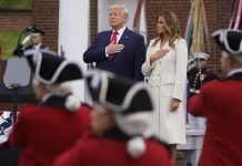 Trump commemorates Memorial Day, defends decision to play golf