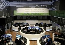 World equities edge higher despite U.S.-China tensions