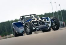 ToyMakerz Crafts Extreme 2,600 HP Street-Legal Slingshot Dragster