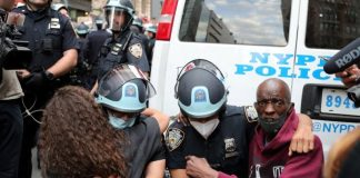 Outpouring of rage over George Floyd killing tests limits of U.S. police tactics